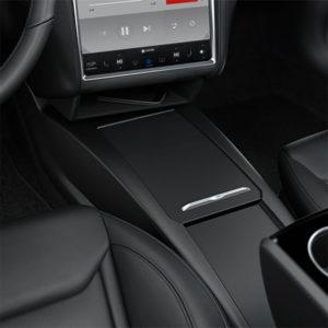 Model S oem center console organizer