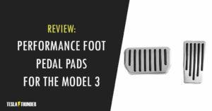 tesla model 3 foot pedals image