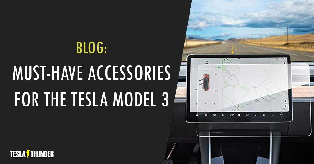 tesla model 3 accessories