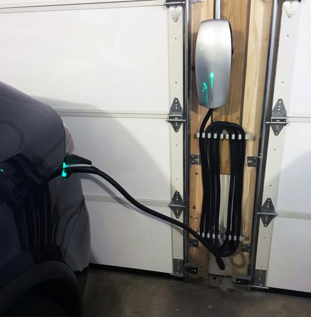 Tesla Cable Organizer for Wall and Mobile Connector