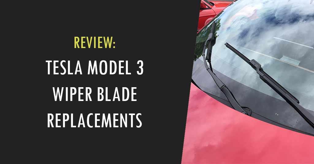 tesla model 3 wiper blades