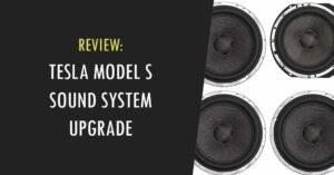 tesla model s sound system upgrade