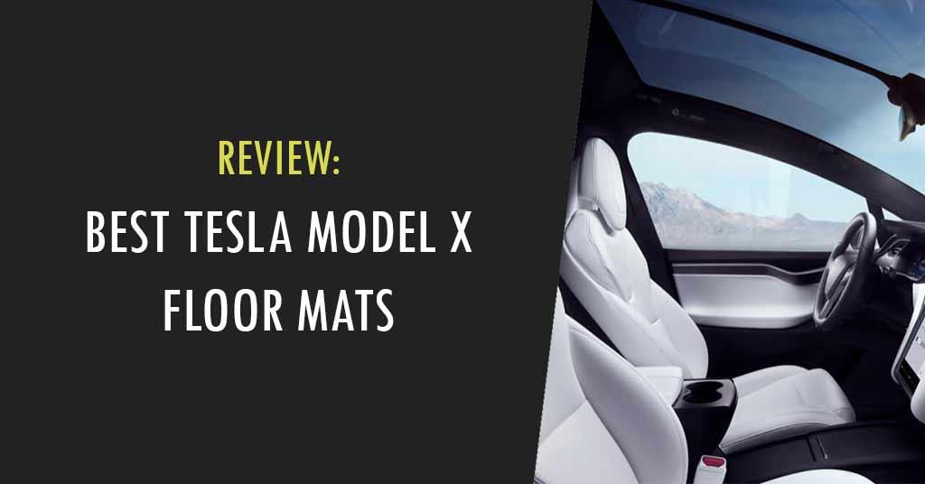 Tesla Model X Floor Mats