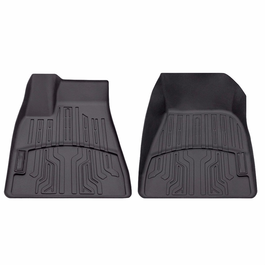 tesla front row floormats