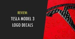 tesla model 3 logo decals
