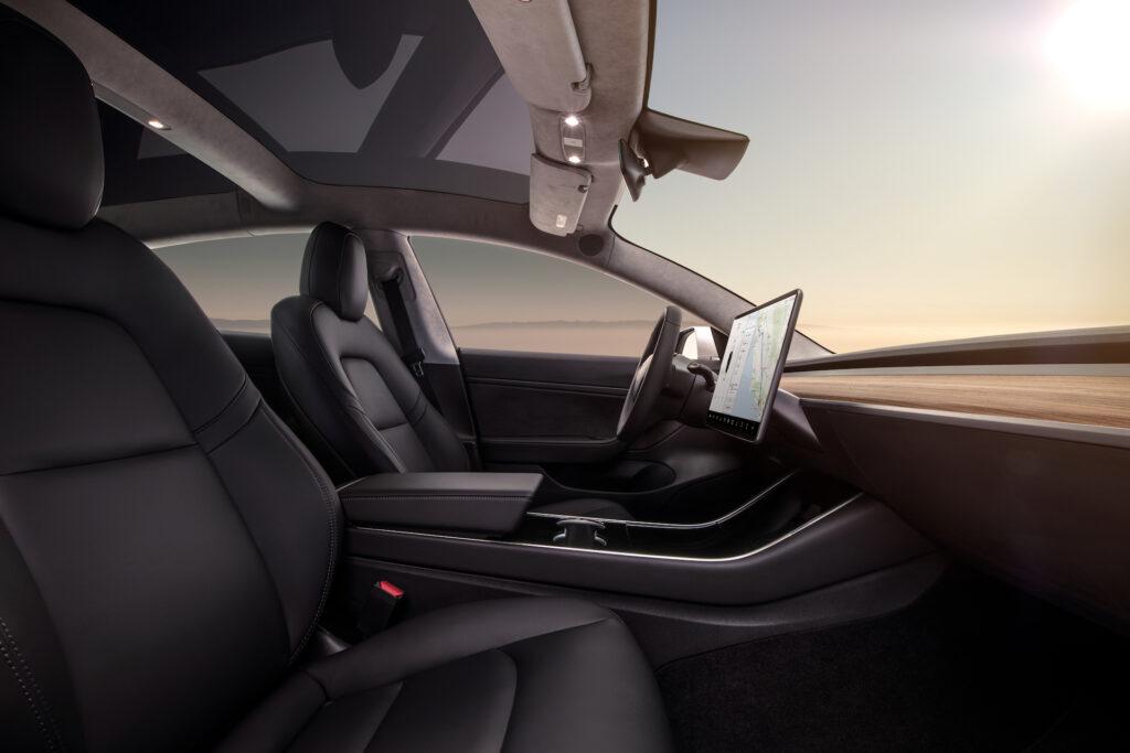Tesla model 3 hidden air vents