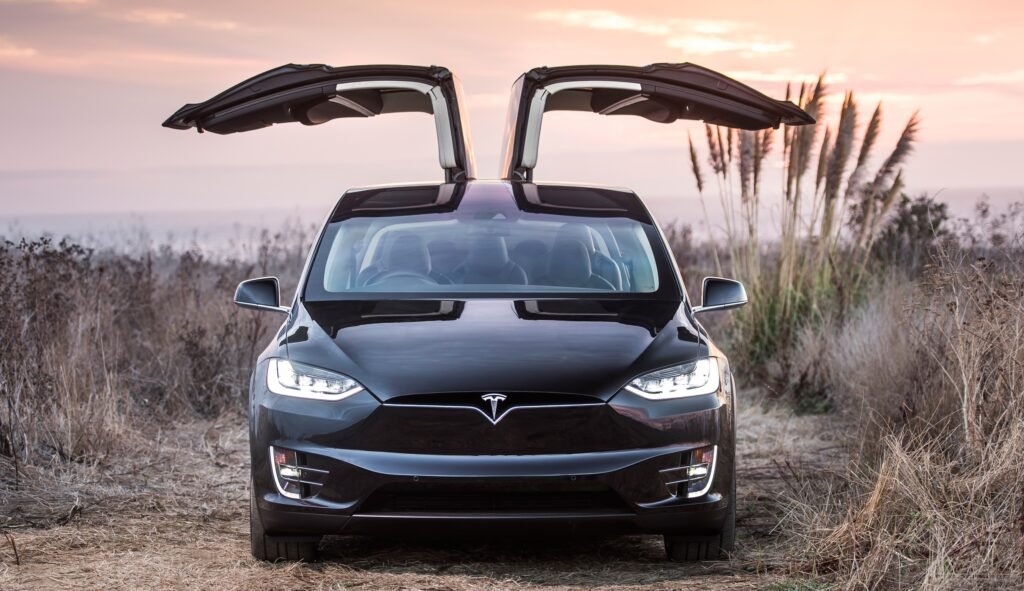 Model X Falcon-wing doors
