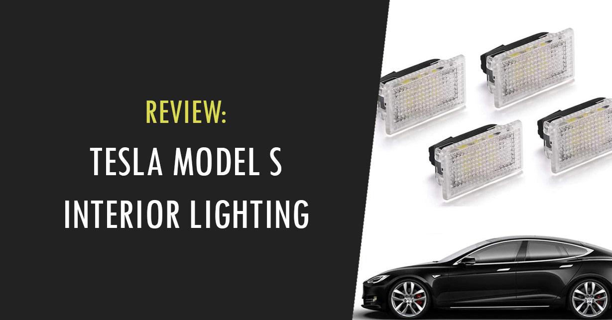 tesla model s interior lighting