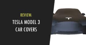 tesla model 3 car cover