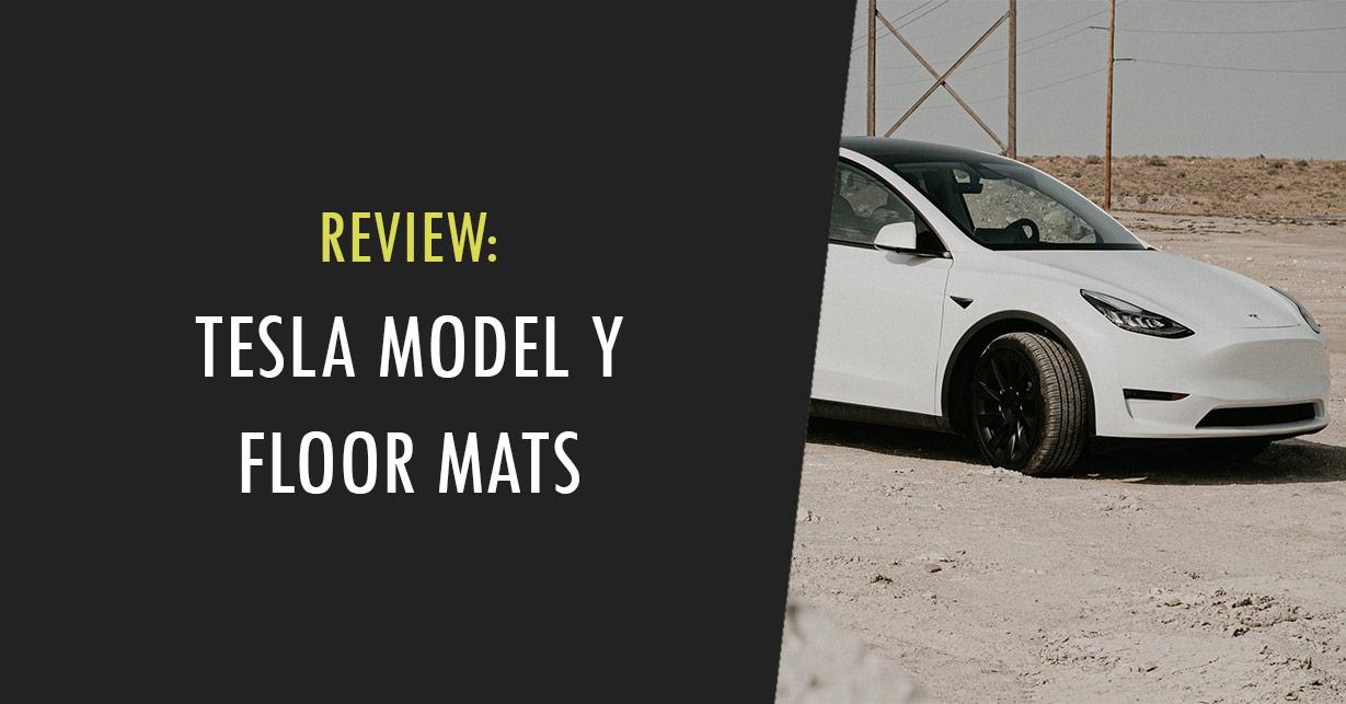 tesla model y floor mats