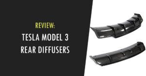 tesla model 3 rear diffuser