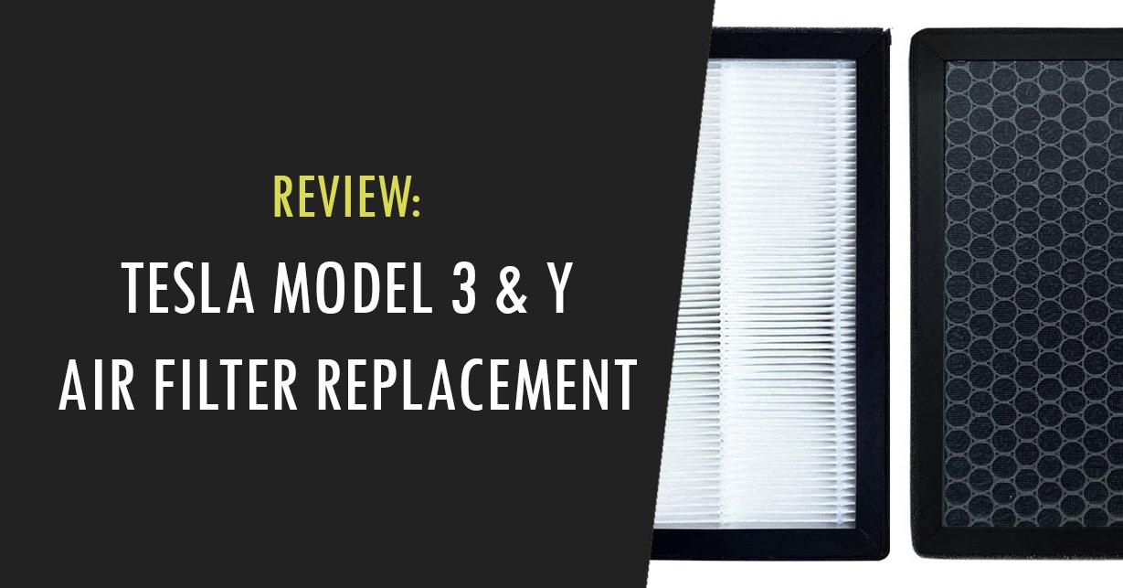 tesla model 3 y air filter