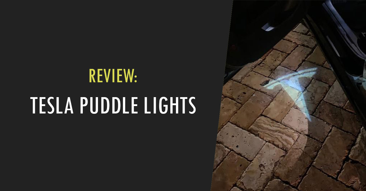tesla puddle lights