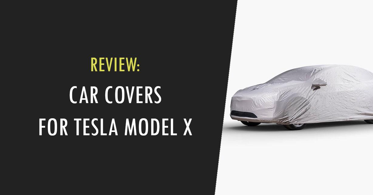 tesla model x car cover