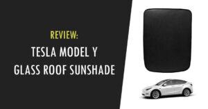 tesla model y glass roof sunshade