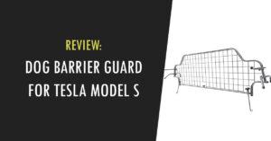 tesla model s dog barrier