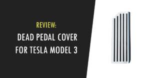 dead pedal cover for tesla model 3
